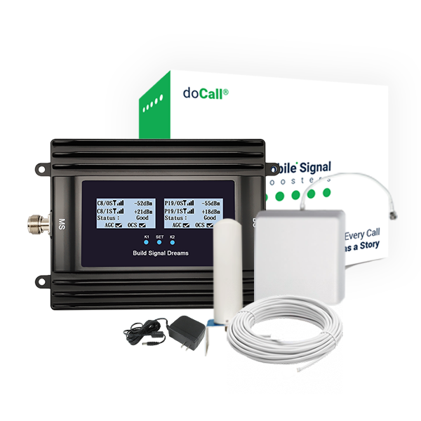 DoCall 5 Band DC5020-US5K3 Signal Booster